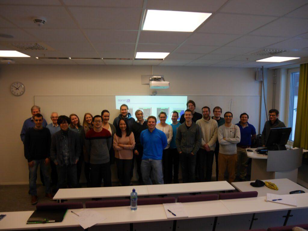 Course participants. Photo: Thomas Kræmer