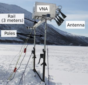Ground-based tomographic SAR system used for data collection.
