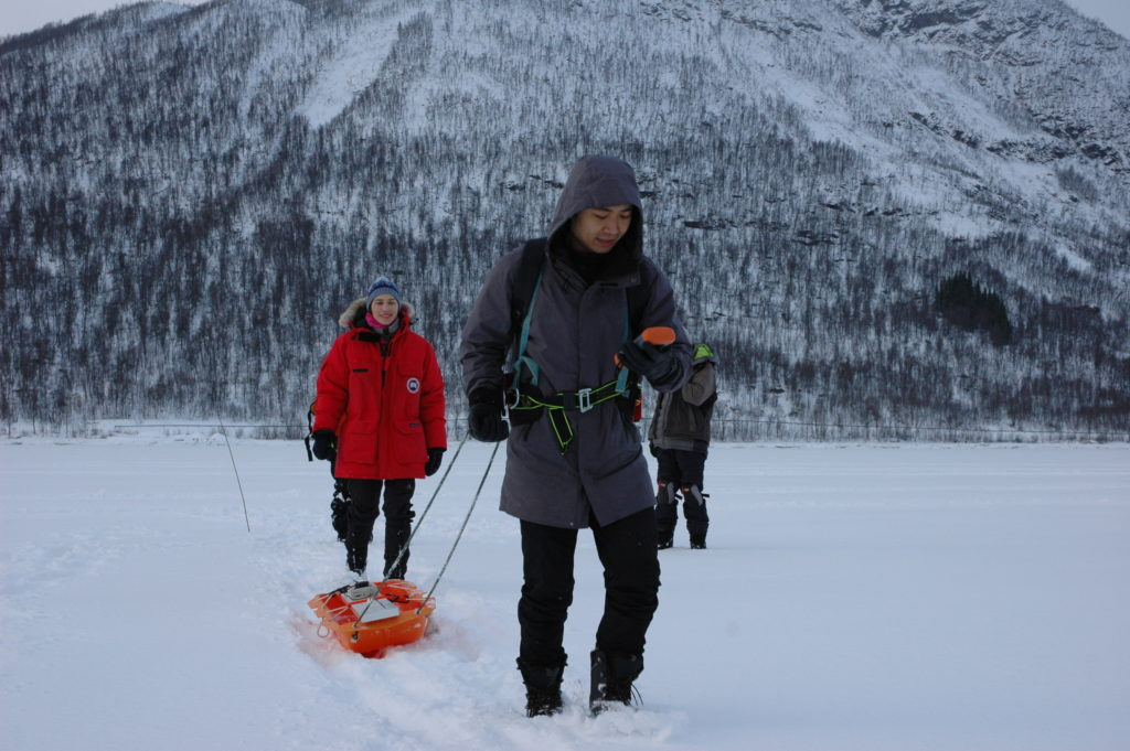 From July on, Wenkai will work with sea ice expersts from